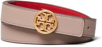 Tory Burch T-Logo Reversible Leather Belt