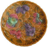 One Kings Lane Vintage Majolica Fruits Platter