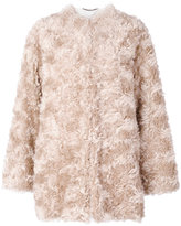 Stella McCartney Fur Free Fur jacket - women - Cotton/Viscose/Mohair/Wool - 36