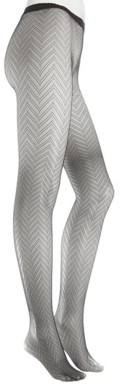Natori Herringbone Net Women's Tights