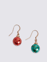 M&S Collection Bauble Drop Earrings