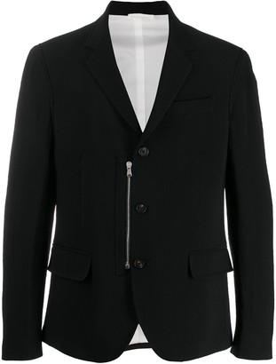 Diesel Black Gold Zipped Slim-Fit Blazer
