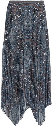 Intermix Kayla Pleated Midi Skirt
