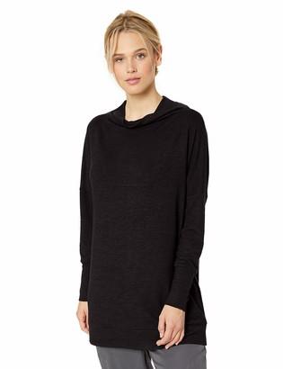 Daily Ritual Amazon Brand Women's Cozy Knit Modern Funnel-Neck Tunic