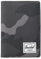 Herschel Raynor Passport Holder RFID (Black) Wallet Handbags