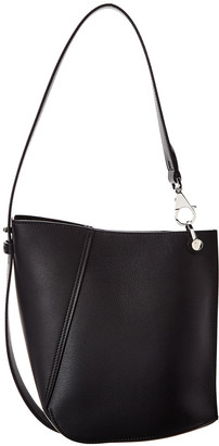 Lanvin Hook Small Leather Shoulder Bag