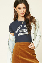 Forever 21 FOREVER 21+ Night Owls Graphic Tee