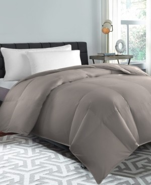 Blue Ridge 240 Thread Count Down Feather Comforter, Twin