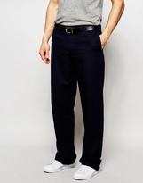 Ymc Trousers In Herringbone Stripe