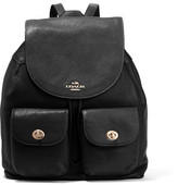 Coach Billie Textured-Leather Backpack