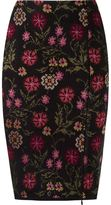 Cecilia Prado floral knitted pencil skirt
