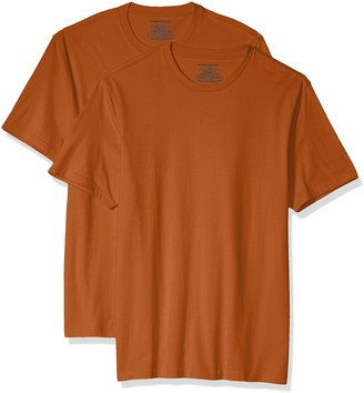 Amazon Essentials Men's 2-Pack Slim-Fit Short-Sleeve Crewneck T-Shirt