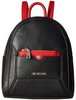 Love Moschino Detachable Pocket Backpack Backpack Bags