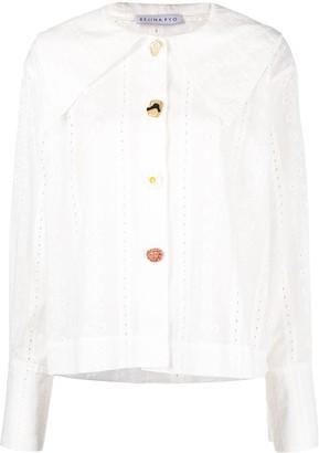 REJINA PYO Elliot broderie shirt