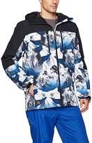 Quiksilver Men's Mission Block 10k Insulated Snowboard Ski Jacket