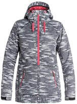 Roxy SNOW Women's Valley Hoodie Tailored Fit Jacket