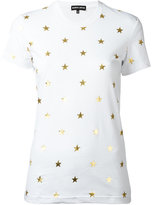 Markus Lupfer metallic star print T-shirt - women - Cotton - M