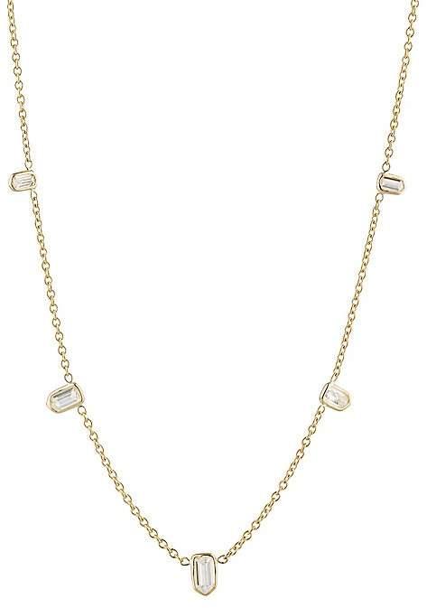 Finn Women's Bullet Diamond Necklace