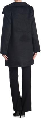 Halogen Asymmetrical Front Zip Coat