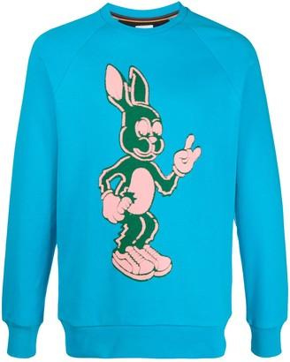 Paul Smith Bunny Print Sweatshirt