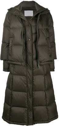 HUGO BOSS Padded Jacket With Detachable Length