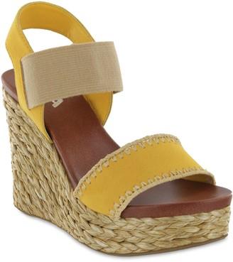 Mia Braided Wedge Sandals - Yessica