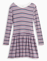 Splendid Girl Rib Stripe Sweater Dress