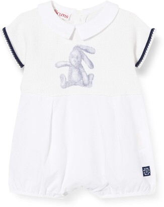 Brums Baby Boys' Pagliaccetto Tricot+tess.Piquet Romper