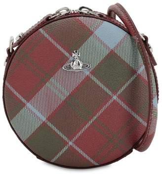 Vivienne Westwood Derby Round Coated Canvas Shoulder Bag
