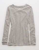 American Eagle Aerie Real Soft® Long Sleeve Tee
