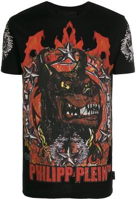 Philipp Plein crew neck Gothic Plein T-shirt