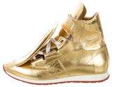 Vivienne Westwood Leather High-Top Sneakers