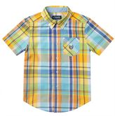 Chaps Boys 4-7 Plaid Short Sleeve Button-Down Shirt