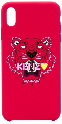Kenzo Tiger-print iPhone XS Max case