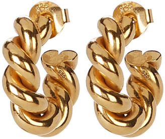 Isabel Lennse Twisted Loop Earrings