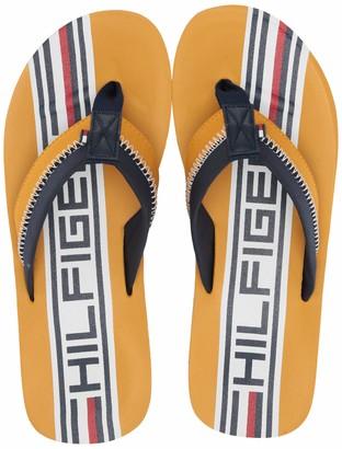 Tommy Hilfiger Men's Daylon Flip-Flop Orange 7 Medium US
