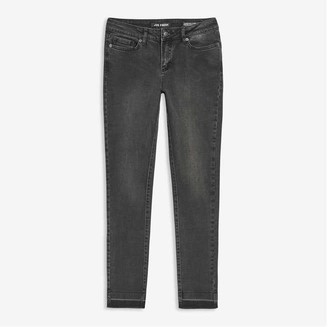 Joe Fresh Women's Classic Slim-Fit Jeans, Black (Size 27)