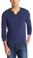 Mod-o-doc Men's Les Carillo Long Sleeve Vintage Fit Notch V-Neck T-Shirt