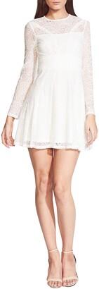 Bardot Tiana Lace Long Sleeve Minidress