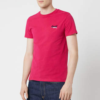 Superdry Men's Orange Label Vintage Embroidered Short Sleeve T-Shirt