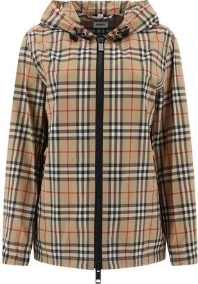 Burberry Everton Vintage Check Hooded Jacket