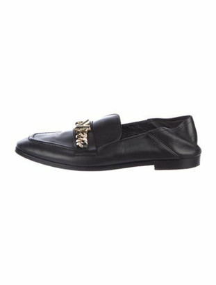 Louis Vuitton Prime Time Loafer Chain-Link Accent Loafers Black