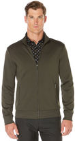 Perry Ellis Big and Tall Textured Full Zip Jacket