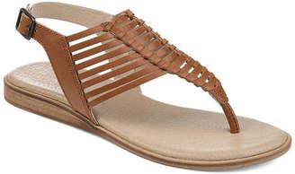 JOURNEE SIGNATURE Journee Signature Womens Davis T-Strap Flat Sandals