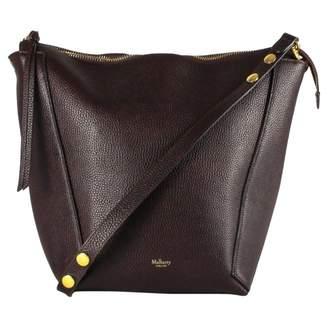 Mulberry Burgundy Leather Handbags