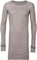 Rick Owens long length T-shirt - men - Cotton - S
