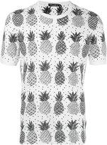 Dolce & Gabbana pineapple print T-shirt - men - Cotton - 48