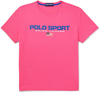 Polo Ralph Lauren Logo-Print Cotton-Jersey T-Shirt