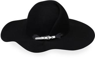 Eugenia Kim Catherine Wool Sculpted Wide-Brim Hat