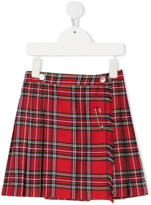 Mariella Ferrari Classic Tartan Skirt